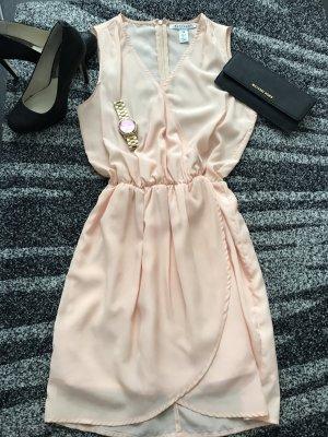 Sommerkleid Rosé Minikleid von Nelly