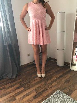 Sommerkleid Rosé /Weiß