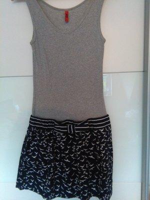 QS by s.Oliver T-shirt jurk veelkleurig Katoen
