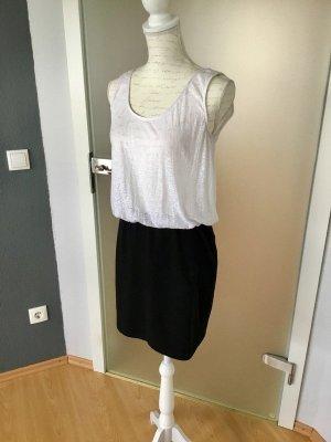 Sommerkleid schwarz weiß Größe S