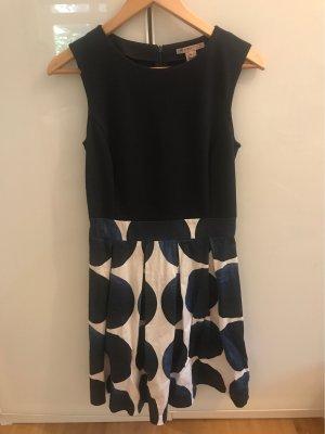 Anna Field Midi-jurk donkerblauw-wit