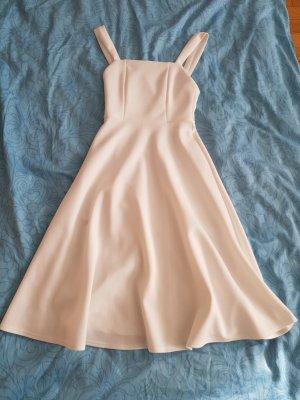 Sommerkleid / Standesamtkleid weiß / ivory / elfenbeinfarben