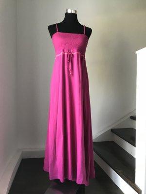 Sommerkleid,Standkleid in pink, enges ,sexy Oberteil mit Gummizug 38/40