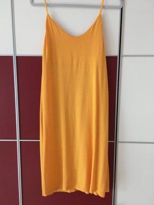 H&M T-shirt jurk licht Oranje