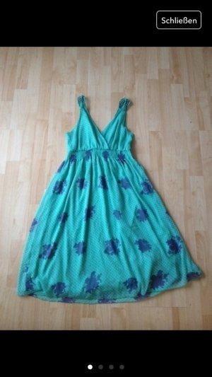 Sommerkleid, Strandkleid gr.S grün/violette