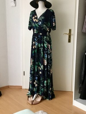 Sommerkleid Strandkleid Maxikleid mit Blumen Größe XL
