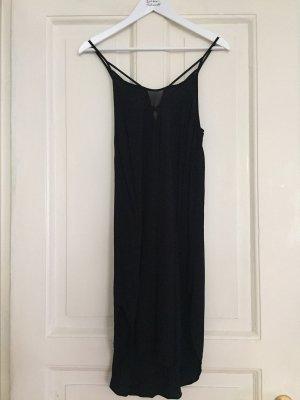 Sommerkleid Trägerkleid Seidenkleid schwarz von Glamorous - S