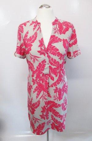 H&M Robe tunique multicolore viscose