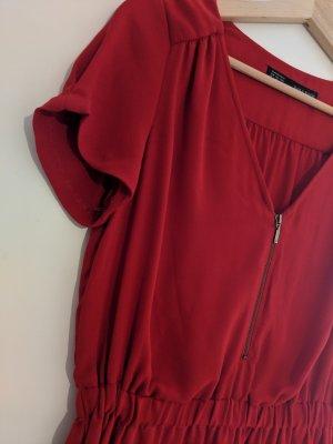 Sommerkleid / vibrantes Rot /Zara