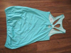 Adidas Robe de plage blanc-bleu clair