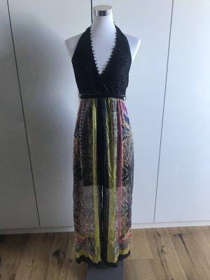 Ana Alcazar Maxi Dress multicolored silk