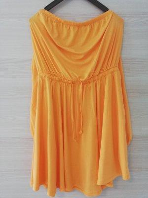Asos Midi Dress light orange-orange