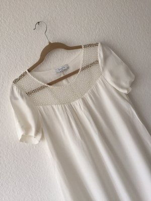 Axara A Line Dress white