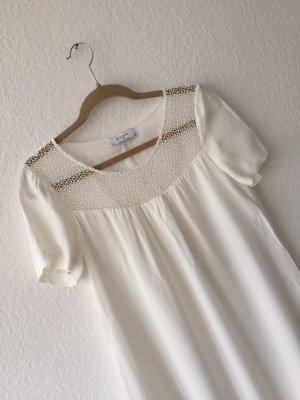 Axara A Line Dress white