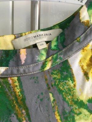 BCBG Maxazria Abito monospalla multicolore Tessuto misto