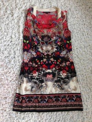 Sommerkleid von Comma mit Wasserfallausschnitt