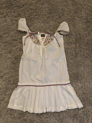Dolce & Gabbana Vestido cut out blanco