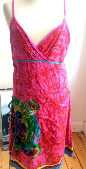 Sommerkleid von DESIGUAL in pink, Größe 40