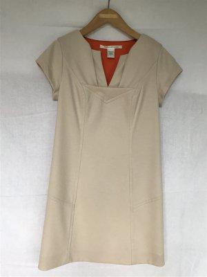 Diane von Furstenberg Abito aderente beige chiaro-arancione Lana