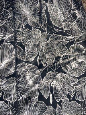Esmara Robe longue noir-blanc