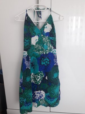 H&M Strandjurk blauw-groen