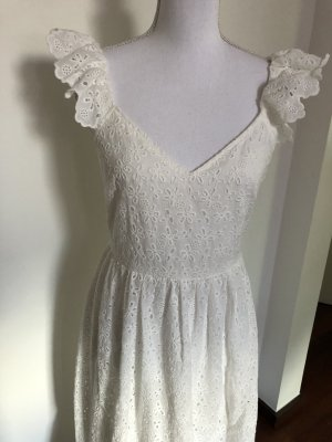 H&M Lace Dress white