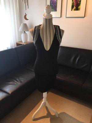 Sommerkleid von H&M in schwarz mit Rückenausschnitt