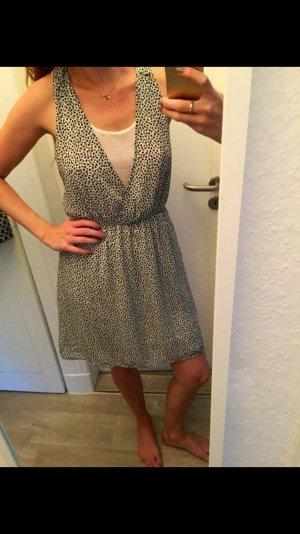 Sommerkleid von H&M Muster Schwarz-weiß