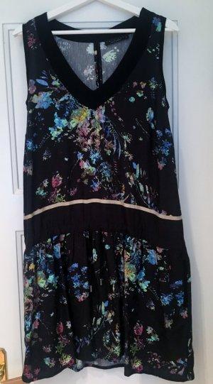 Sommerkleid von Twin Set (Schwarz mit buntem Muster)
