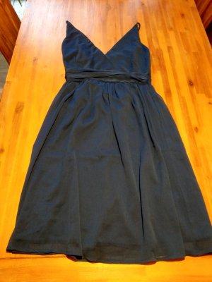 Vero Moda Chiffon jurk blauw Viscose