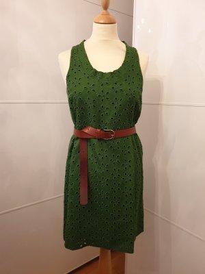 Zara Vestido verde bosque