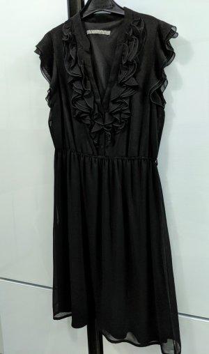 Zara Basic A-lijn jurk zwart
