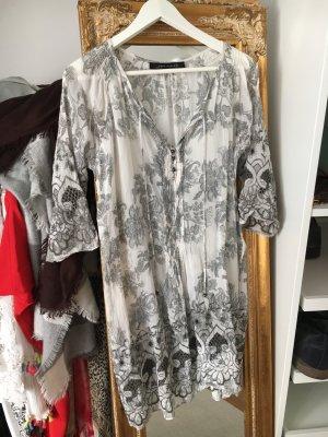 Zara Woman Vestido playero multicolor