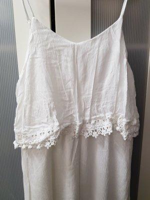 Gina Vestido playero blanco