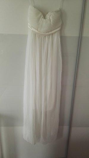 Sommerkleid weiß Chiffon