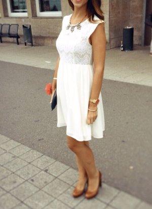 Sommerkleid - weiß - forever21
