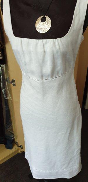 Sommerkleid weiß mit Lochstickerei