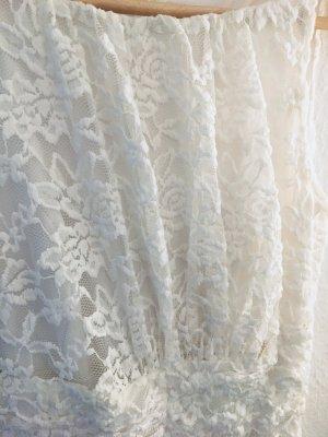 Sommerkleid, weiße Spitze