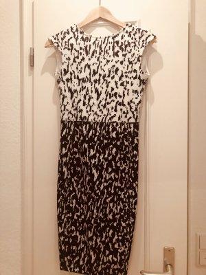 Zara Robe blanc-noir