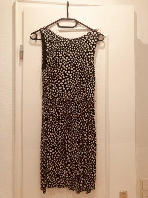 Dress black-white