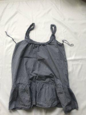 Sommerkleid Zara schwarz weiß kariert