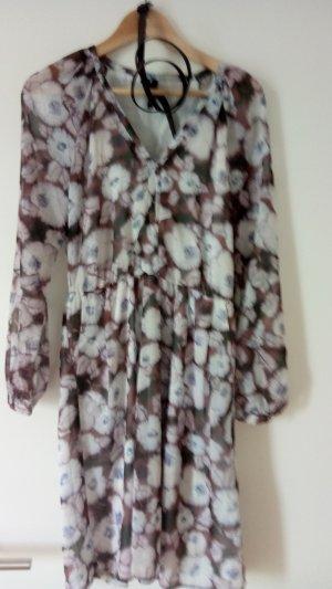 Sommerkleid Zara transparent mit Unterfutter Gr. M