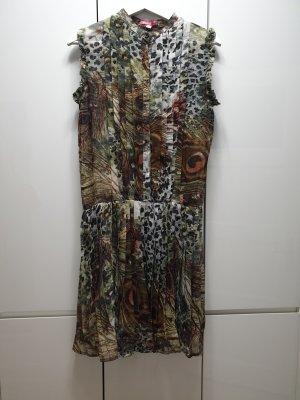 Smash Chiffon jurk veelkleurig