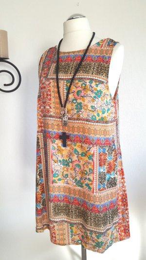 Sommerkleidchen mit Patchworkmuster Gr. 44