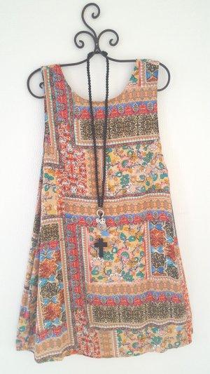❤ Sommerkleidchen ❤ mit Patchworkmuster Gr. 44
