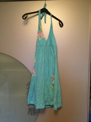 H&M L.O.G.G. Halter Dress turquoise