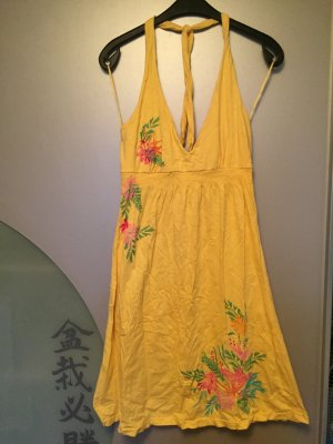 H&M L.O.G.G. Halter Dress yellow