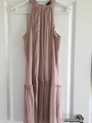 Zara Woman Halterjurk stoffig roze-roze Synthetische vezel