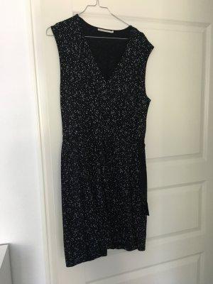 Sommerkleidchen schwarz mit Punkten