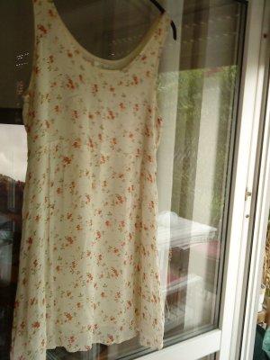 Sommerkleidchen von s.Oliver cremegelb mit Blümchen Größe M